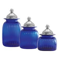 artland canisters with mayfair lid set of 3 walmart com
