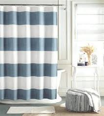 Dusty Blue Curtains Tommy Hilfiger Cabana Stripe Shower Curtain Navy Blue And White