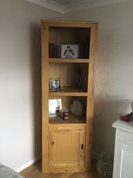 wood corner bookcase 15 best collection of corner oak bookcase