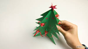 paper christmas tree diy learn how to make this christmas craft