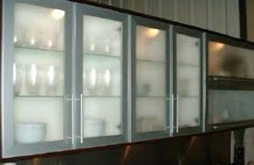 Frosted Kitchen Cabinet Doors Kitchen Cabinets With Frosted Glass Doors Faced