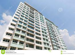 new singapore government apartments stock image image 31700621