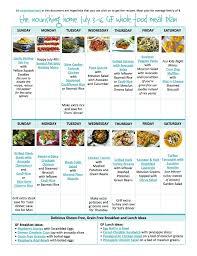 bi weekly whole food meal plan for july 3 u201316 u2014 the better mom