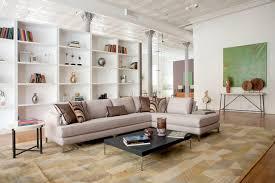 broome st loft soho new york contemporary living room new