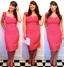 the perfect polka dot dress roxy vintage style