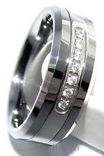Mens Tungsten Carbide Wedding Rings by Tungsten Cz Moissanite Und Simulated Engagement Rings Ebay