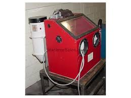 Used Blast Cabinet Used Central Pneumatic 42202 Blast Cleaner W Dust Collector