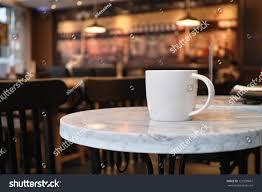 closeup cup coffee coffee shop stock photo 121599607 shutterstock