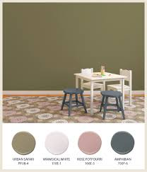 colorfully behr earth tones for kids