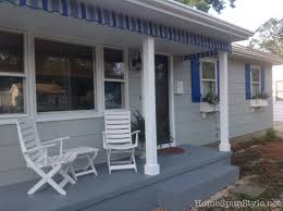 Awnings For Homes At Lowes Awnings And Porch Valances U2013 Home Spun Style