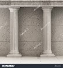 interior decorative columns elegant house tuscan wood column