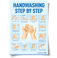 printable poster for hand washing hand washing poster health safety publishers