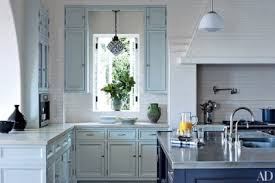 what color to paint kitchen cabinets in small space painted kitchen cabinet ideas architectural digest