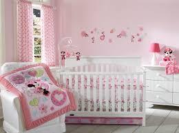 Mickey Mouse Crib Bedding Set Walmart Minnie Mouse Sitting Pretty 3 Crib Bedding Set