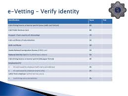 bureau naturalisation e vetting verify identity ppt