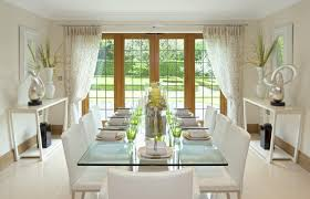 beautiful dining room curtain ideas home design ideas