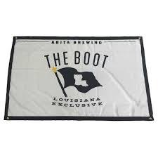Flag Distributors The Boot Flag Abita Shop Abita Beer