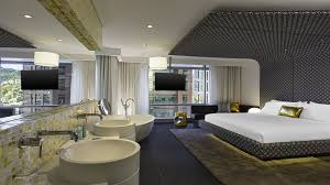 guest rooms at w bogota hotel