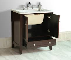 kitchen contemporary marble vanity with wood drawer and stainless