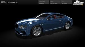 bentley sports coupe car mechanic simulator 2015 bentley on steam