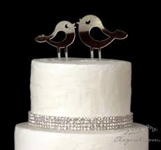 birds wedding cake toppers birds cake topper wedding cake topper