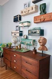 vintage on the shelf best 25 suitcase shelves ideas on suitcases for