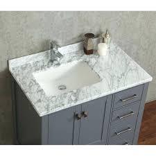 charcoal bathroom vanity buy inch solid wood single in grey cg
