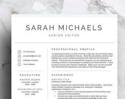 Modern Resumes Best 25 Modern Resume Template Ideas On Pinterest Modern Resume