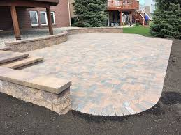 Paver Patio Installation by Patios Walkways Driveways Porches And Steps Built To The