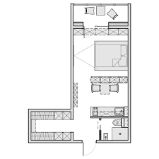 Cabin Blueprint by 3 Beautiful Homes Under 500 Square Feet