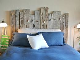 Nautical Headboards | diy driftwood decor ideas and projects driftwood headboard