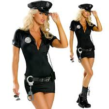 Chinese Takeout Halloween Costume Halloween Costumes Women Police Cosplay Costume Dress