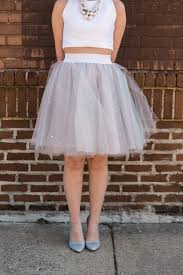 how to make tulle skirt diy tulle skirt ruffled