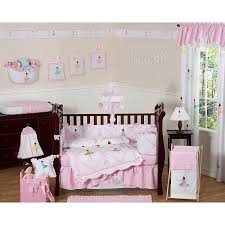 sweet jojo designs ballerina 9 crib bedding set
