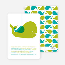 whale baby shower momma and baby whale baby shower invitation paper culture