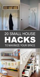 Best Small House Hacks Images On Pinterest House Hacks - House interior designs for small houses