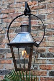 outdoor gas lantern wall light french quarter on yoke hanger the french quarter on yoke hanger