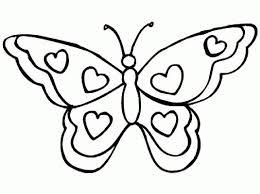 butterfly drawing for kids coloring pages butterfly for kids