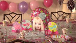 Best 40 Barbie Room Decoration by Barbie Birthday Party Ideas Youtube