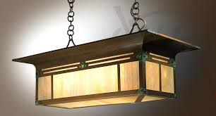 Mission Style Island Lighting Craftsman Style Chandeliers Handcrafted Light Fixture Mission With