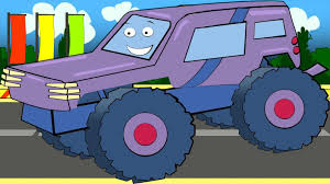 monster trucks kids video bambini video educational big for kids bazylland animacje youtube