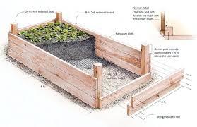 building a raised bed vegetable garden box garden design with how
