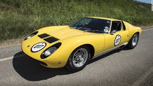 lamborghini miura race car lamborghini miura celebrating the 50th anniversary of the s
