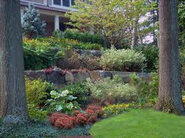 backyard landscaping ideas retaining walls backyard and yard