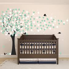 giraffe with jungle monkeys wall decals monkey tree nursery wall