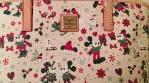 dooney u0026 bourke disney mickey u0026 minnie christmas holiday woodland