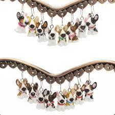 earrings lover bull terrier ceramic jewelry handmade gifts