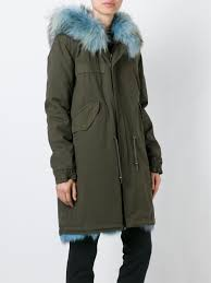 mr u0026 mrs italy fox fur lined parka women clothing mr u0026 mrs italy