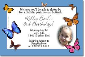 butterfly butterflies birthday invitations candy wrappers thank