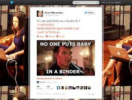 Binders Full Of Women Meme - romney s binders full of women remark goes viral ny daily news